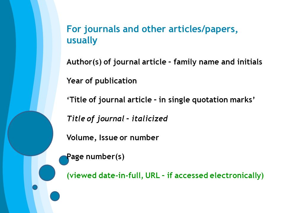 naming journals in essays This site might help you re: in an essay, when you mention an article do you underline, italicize, or put parentheses.