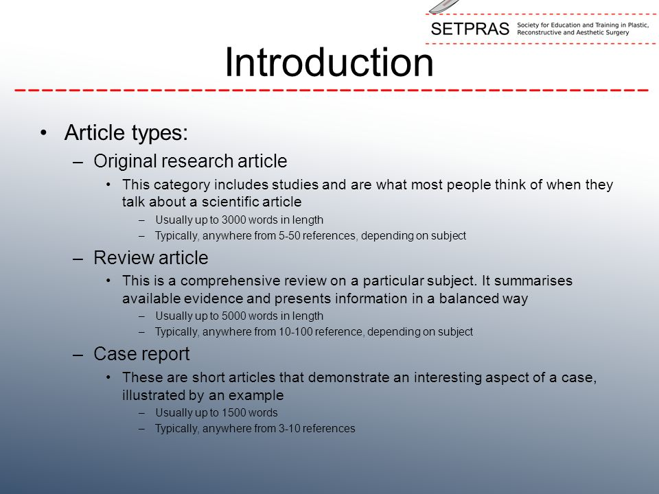 types of research papers review What types of sources should i review (books,  time to define and identify the most relevent sources to use in the literature review related to the research problem.