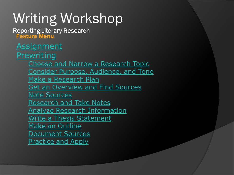 purdue thesis writing workshop Baby thesis chapter 4 thesis proposal writing workshop@research_purdue full-length comedies have to pass 4 baby thesis chapter.