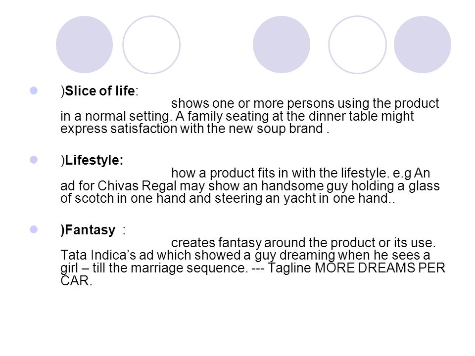 )Slice of life shows one or more persons using the product in a normal  sc 1 st  SlidePlayer & The main steps in developing an effective communication are - ppt ...