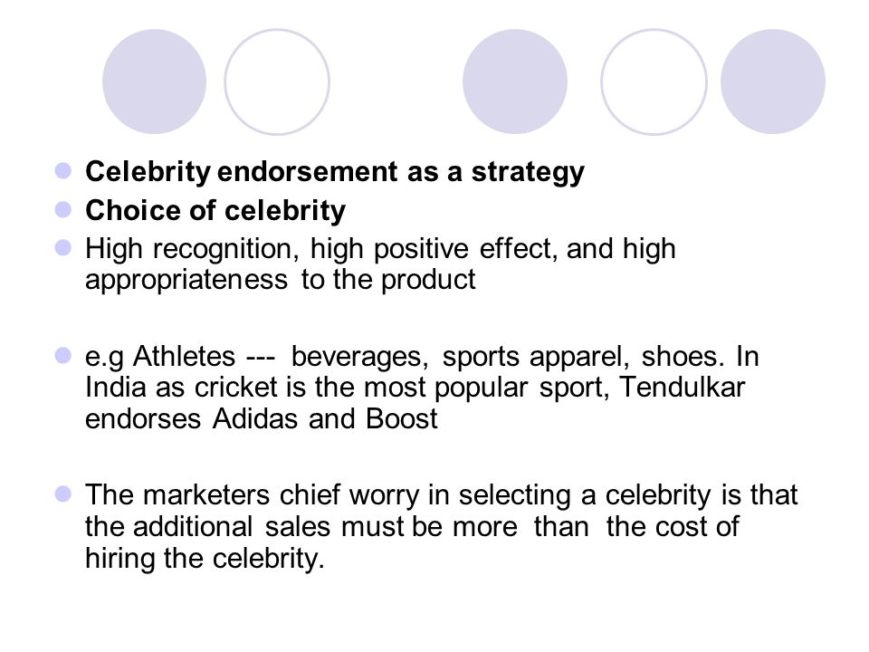 Celebrity-Endorsement-in-India Essay - 535 Words