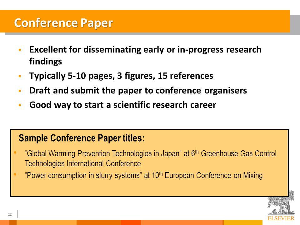 scientific research paper titles