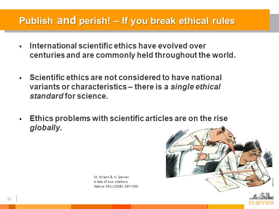Breaking ethical guidelines