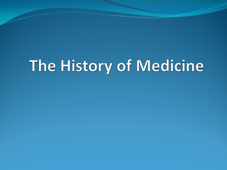 a history of medicine 16 21st A history of medicine: 16th-21st centuries in this paper you will find the exploration of medicine from the 16th century all the way through to the 21st century it will look at the different medical advances through each time period as well as doctors, surgeon's, physicians as well as scientist.