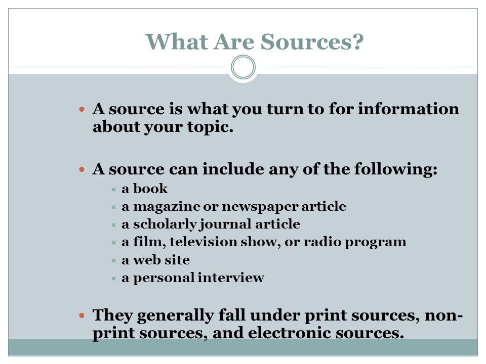 identify sources of information that can inform the process Entering the decision-making process 14 references 15 information sheet 41  sources preferred by teenagers b developed media announce-ments c legislative.