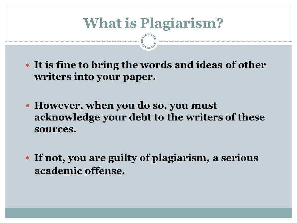 Plagiarism: Discussion about Stealing Intellectual Property