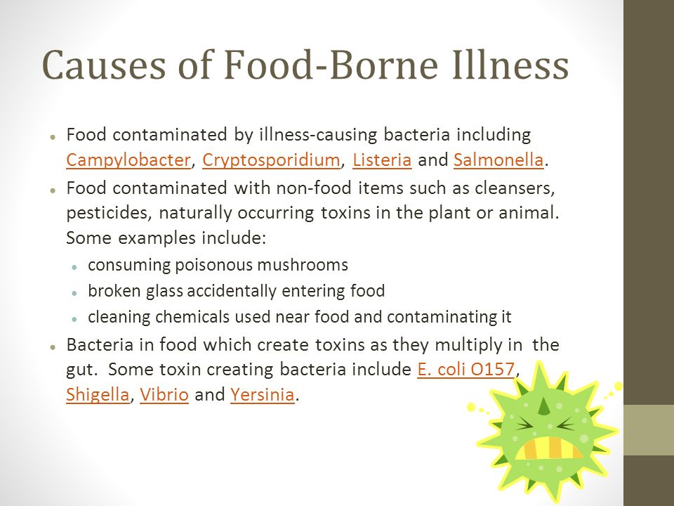 food borne illnesses work sheet Investigation 311a dr _____ worksheet 311a p:____date:_____ foodborne pathogens worksheet directions: refer to your reading in foodborne pathogens to answer the following.