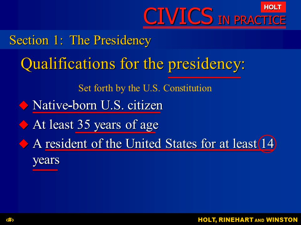 Chapter 6 the executive branch ppt download for How many times can a president be elected to office