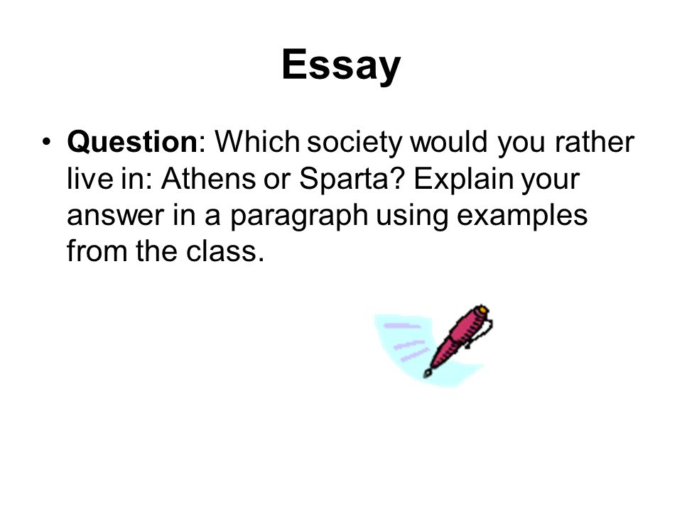 High School Essay Writing  Essay About Learning English Language also Proposal Essay Sparta Essay Questions Essay Term Paper