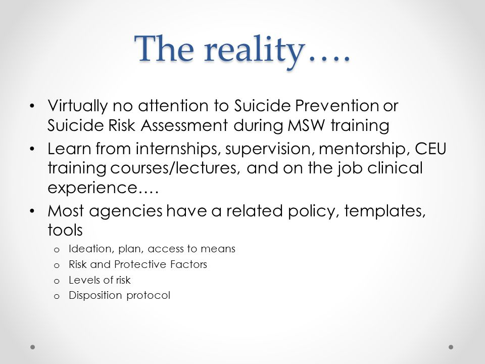 Richard l roudebush va medical center ppt download for Safety plan suicidal ideation template