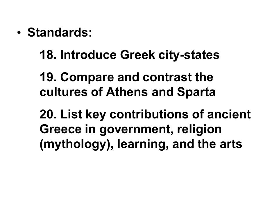 a comparison and contrast between the athens and sparta ancient greek cities