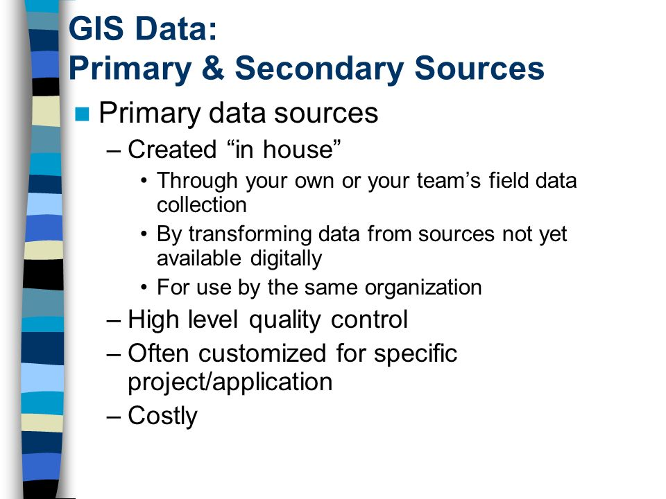 project report on secondary data View notes - the difference between primary and secondary sources of data(assignment) from bus 301 at humber the difference between primary and secondary sources of data primary data is data, which.