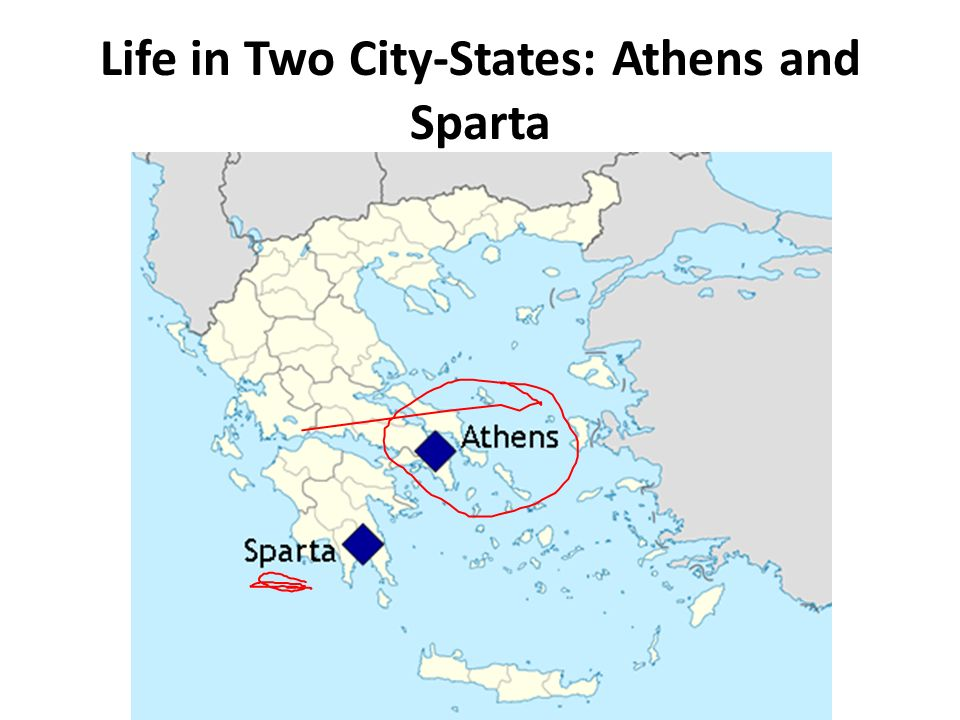 Life In Two City States Athens And Sparta Ppt Video