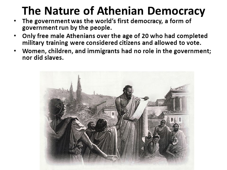 The Nature of Athenian Democracy