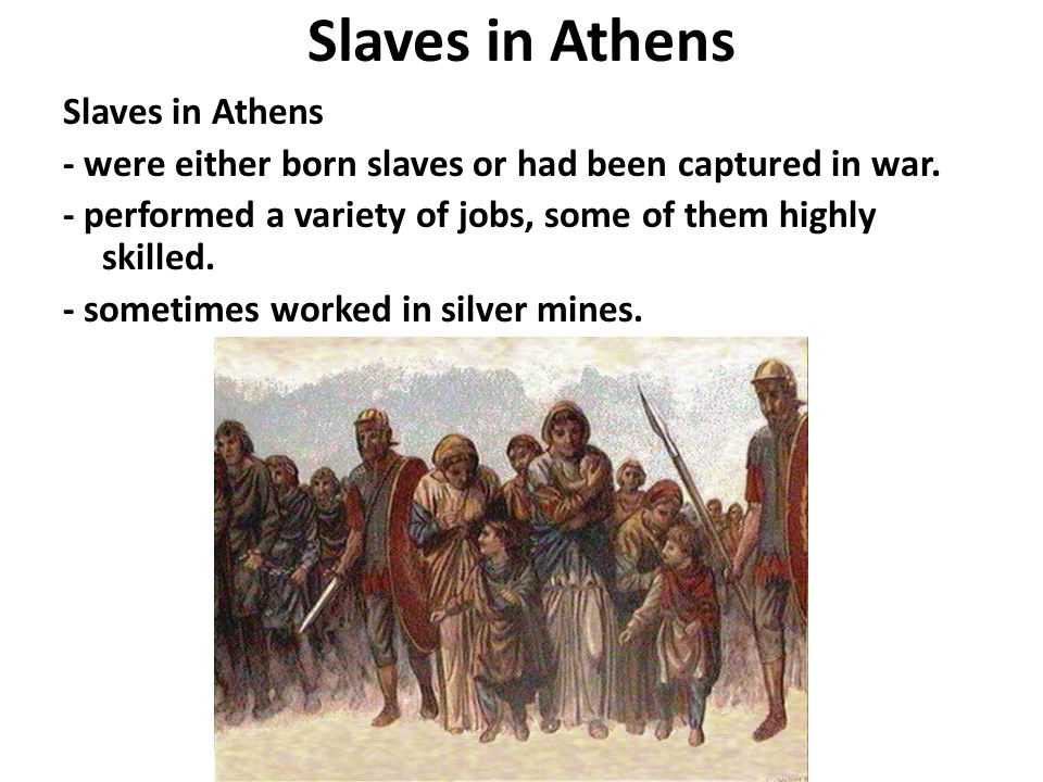 Slaves in Athens