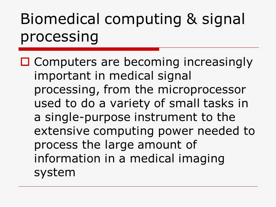 medical imaging signals and systems pdf