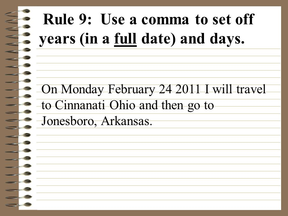 What Is the Three Day Rule