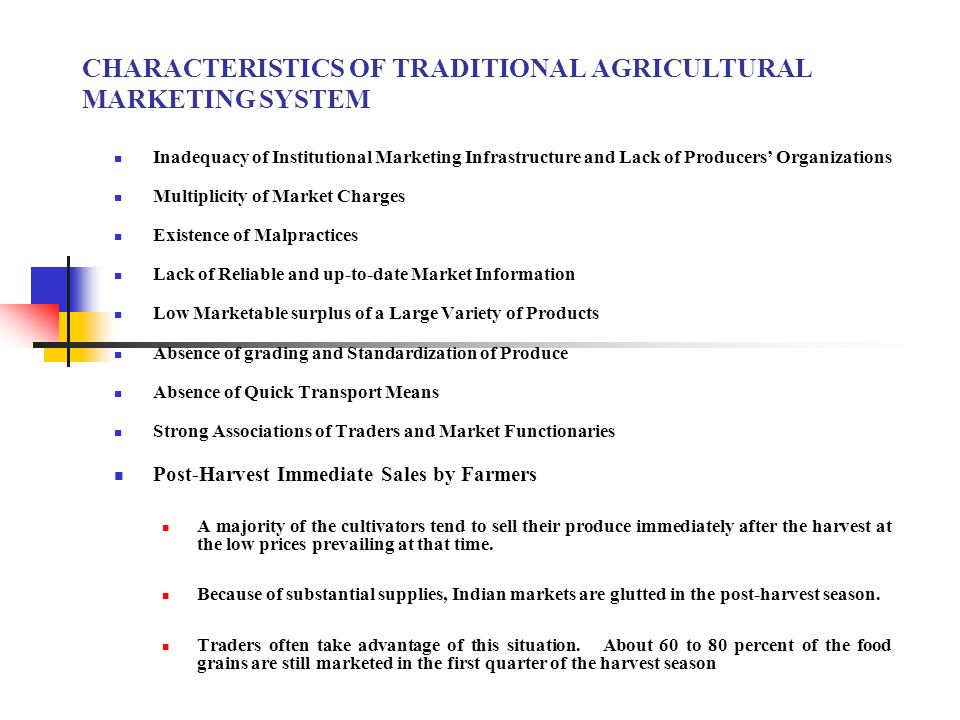 characteristics of traditional markets Brazil market is a free market economy organized along capitalist lines measured in purchasing power parity (ppp) as of 2006, the brazilian economy is the ninth.