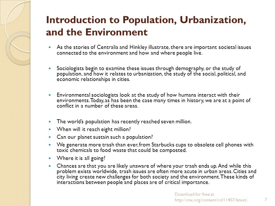 an introduction to the environmental issues in todays society Topic: environmental issues introduction some of the environmental problems are not confined to a particular area or a.