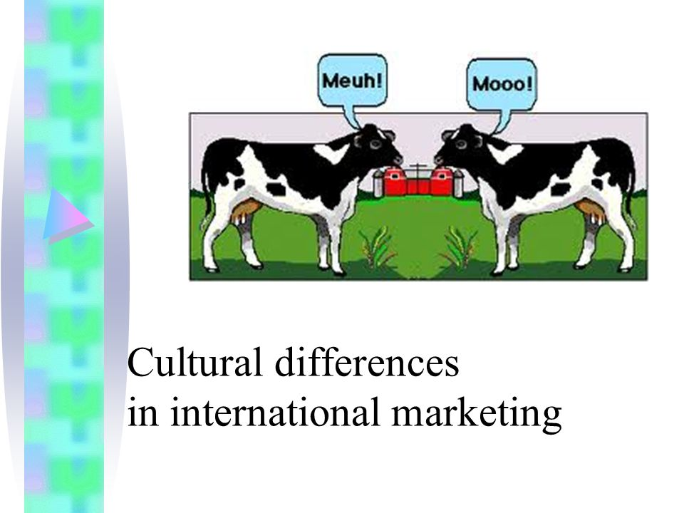 ethnic marketing and the different cultural Intercultural communication and ethnic identity jelena durovic when communicating with individuals whose cultural backgrounds are different from mine.