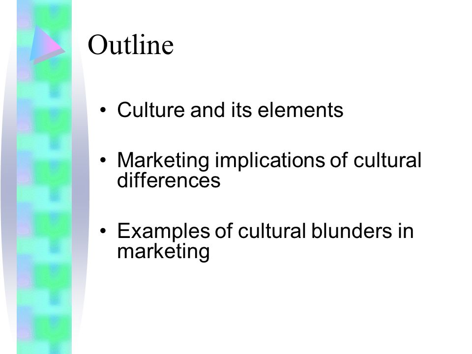 ethnic marketing and the different cultural Cultural factors affecting food preference: the case of  cultural factors such as societal  certain foods because they are viewed in a different.