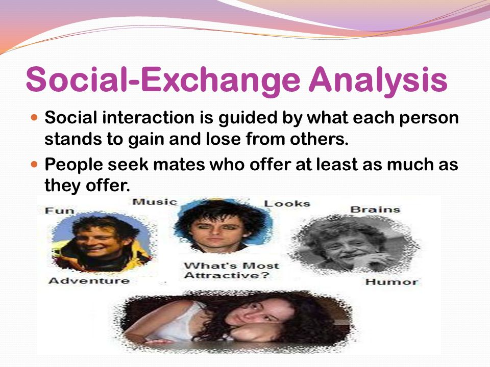 Social-Exchange Analysis
