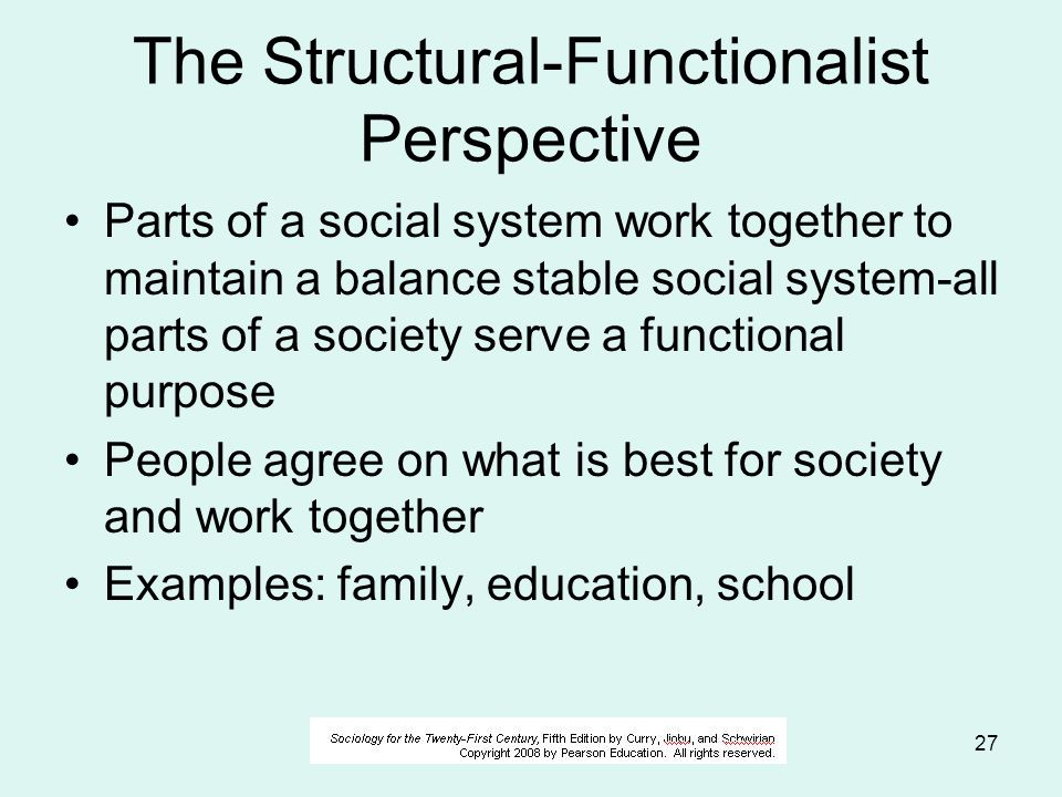 discuss the structural ist functionalist perspective Discuss the structural  question:discuss the structural (ist) functionalist perspective in sociology (your answer should focus on the.