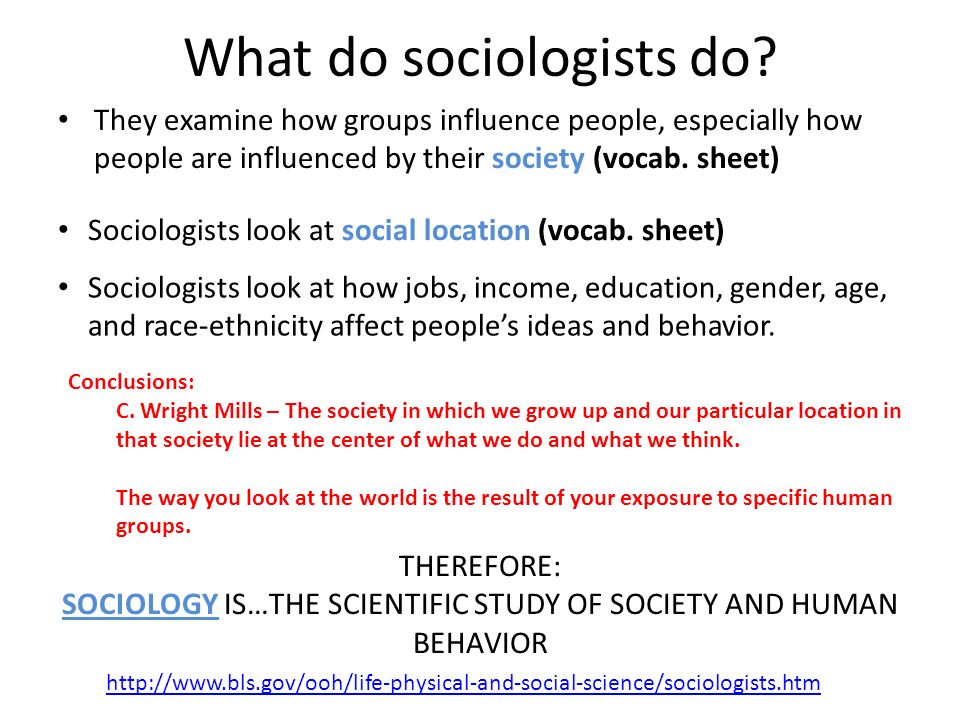 sociologest human behaviour I lead the students through a brief lecture on two basic questions that sociologists (and others) ask about human for human behavior emphasize.