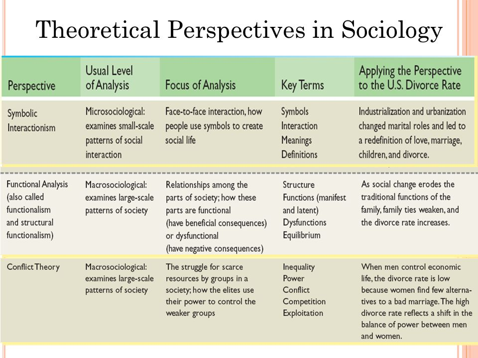 different social ecological perspectives sociology essay Extracts from this document introduction laura searle compare and contrast the biological and social learning theories of gender development gender can be.