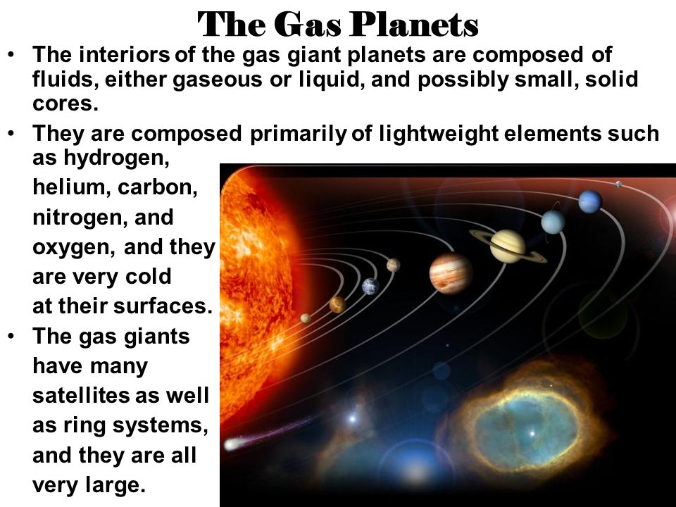 The Gas Giant Planets Chapter 29 Section 3 - ppt download