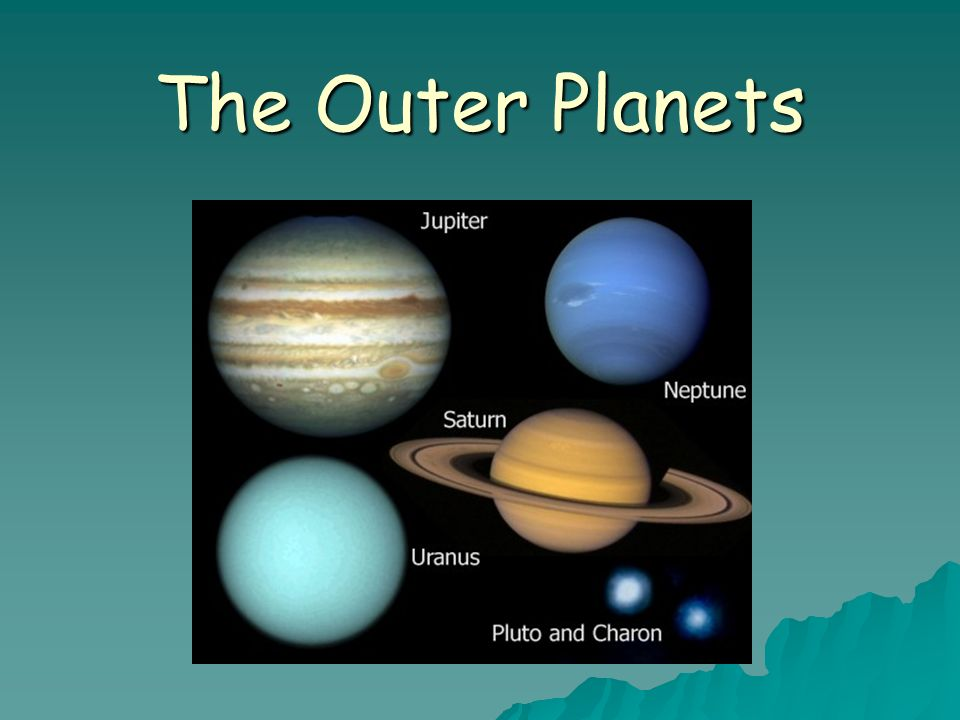 The Outer Planets Ppt Download