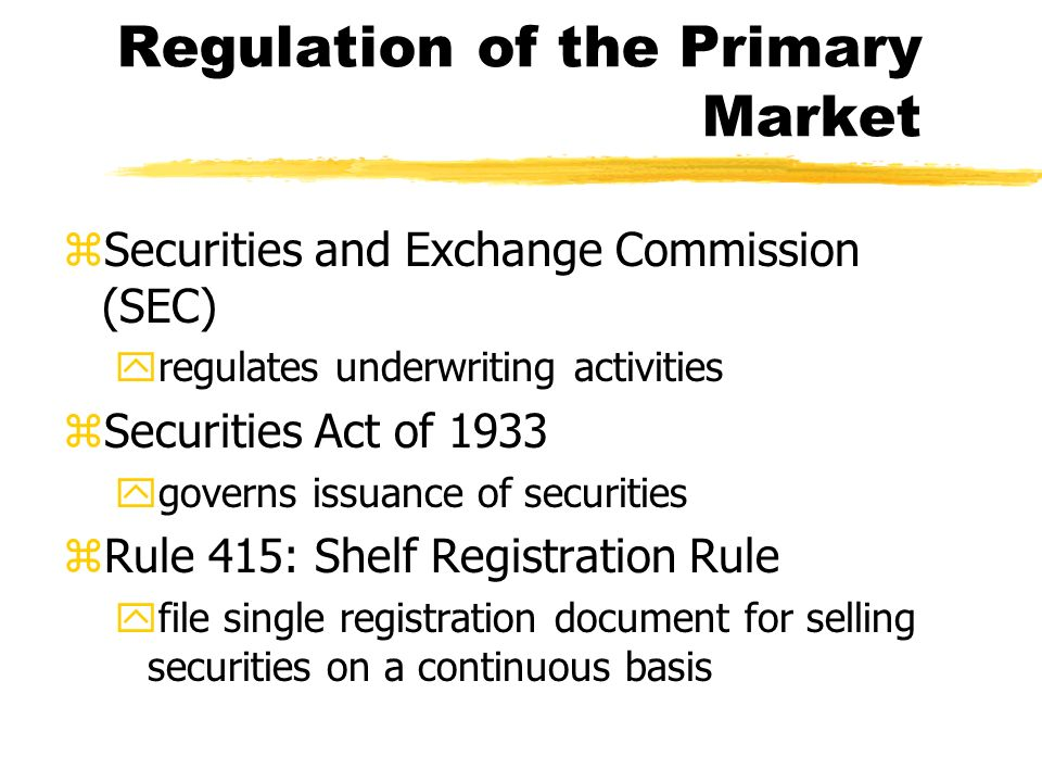 regulation of the stock market in Will gov't regulation kill the housing market -- again  wary of the growing layers of regulation and  get instant access to exclusive stock lists, expert .