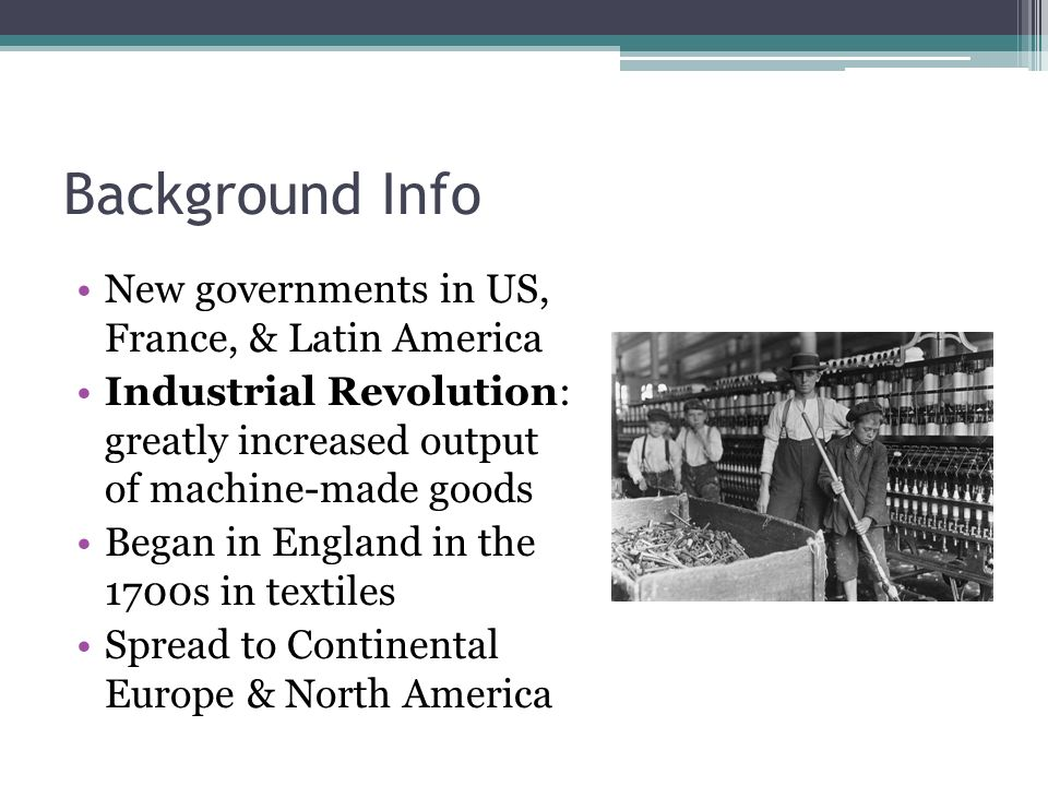 american revolution background info Overview of the american revolution digital history id 2910 much more than a revolt against british taxes and trade regulations, the american revolution was the first modern revolution it marked the first time in history that a people fought for their independence in the name of certain universal principles such as rule of.