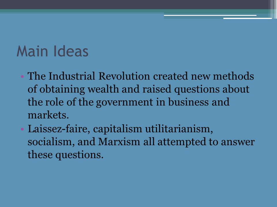 an analysis of the corporate development during the industrial revolution Economic growth and the early industrial revolution but that long development entered its the industrial revolution had begun in britain during the.