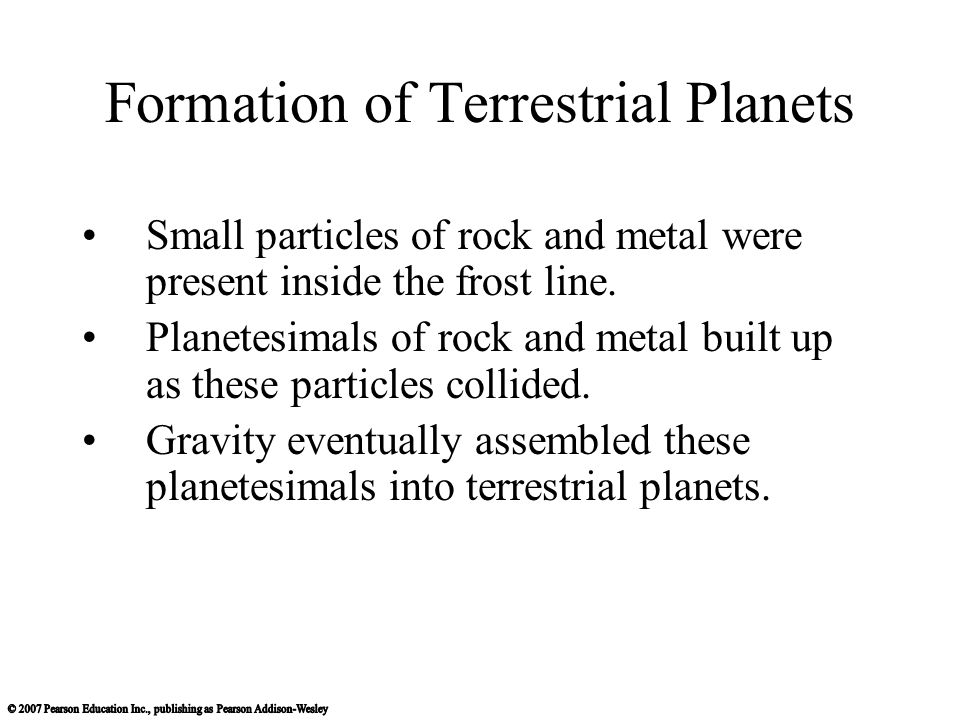 formation of terrestrial planets - photo #18