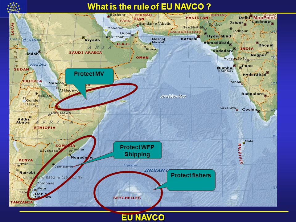 What is the rule of EU NAVCO