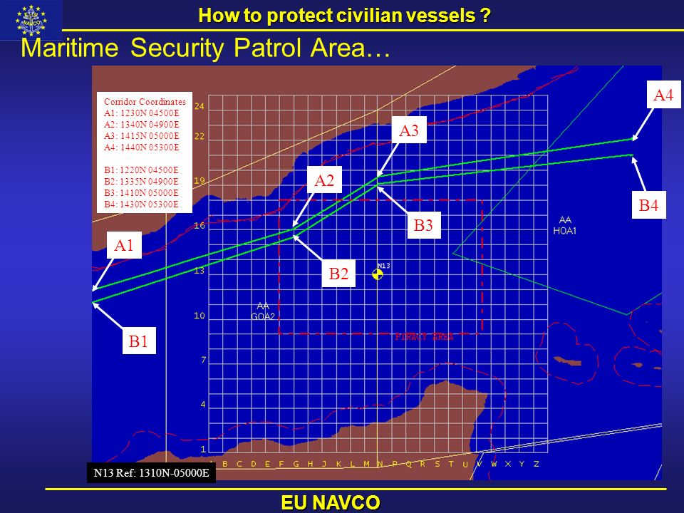 How to protect civilian vessels