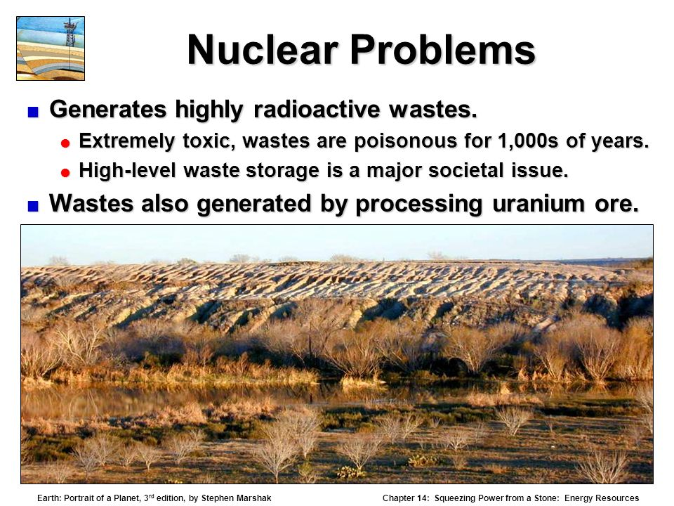 An introduction to the issue of storing radioactive waste