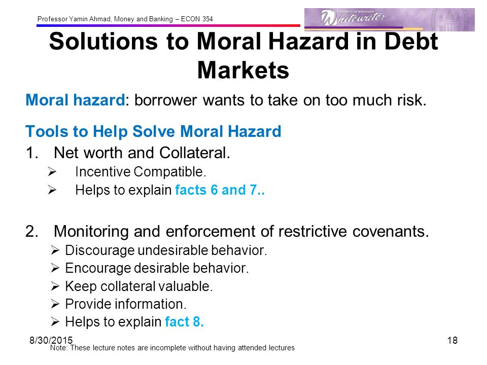 too big to fail moral hazard 1 too big to fail: moral hazard in auditing and the need to restructure the industry before it unravels lawrence a cunningham large audit firms may believe that they are too big.