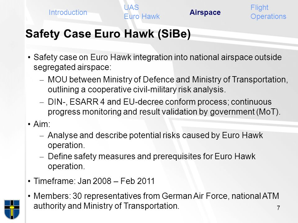 Safety Case Euro Hawk (SiBe)