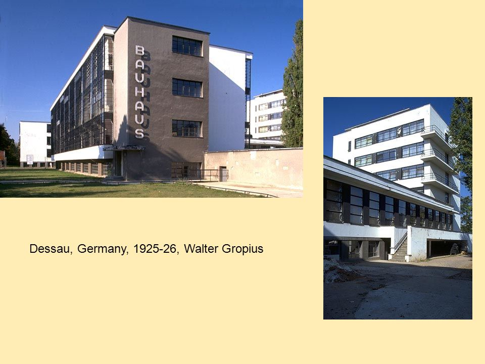 Modernism From Europe And The International Style Ppt
