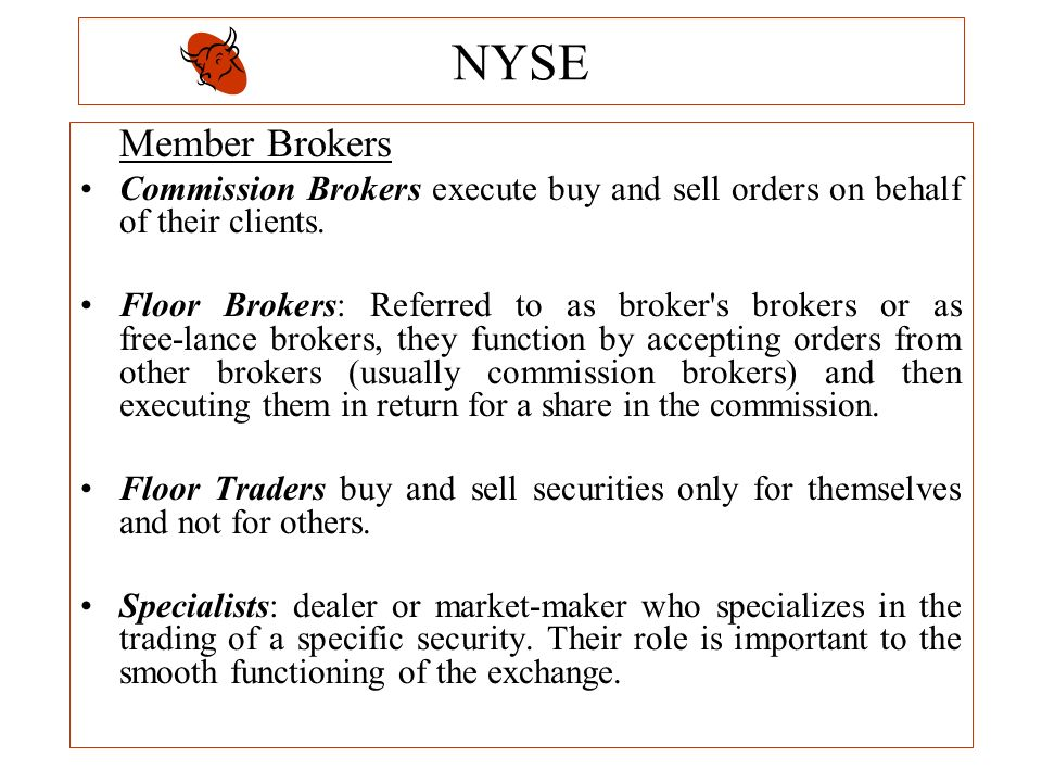 what is the role of brokers dealers Start studying fin 301 chapter 7 learn vocabulary, terms, and more with flashcards, games, and other study tools search  -crucial role in valuing financial assets: assess what.