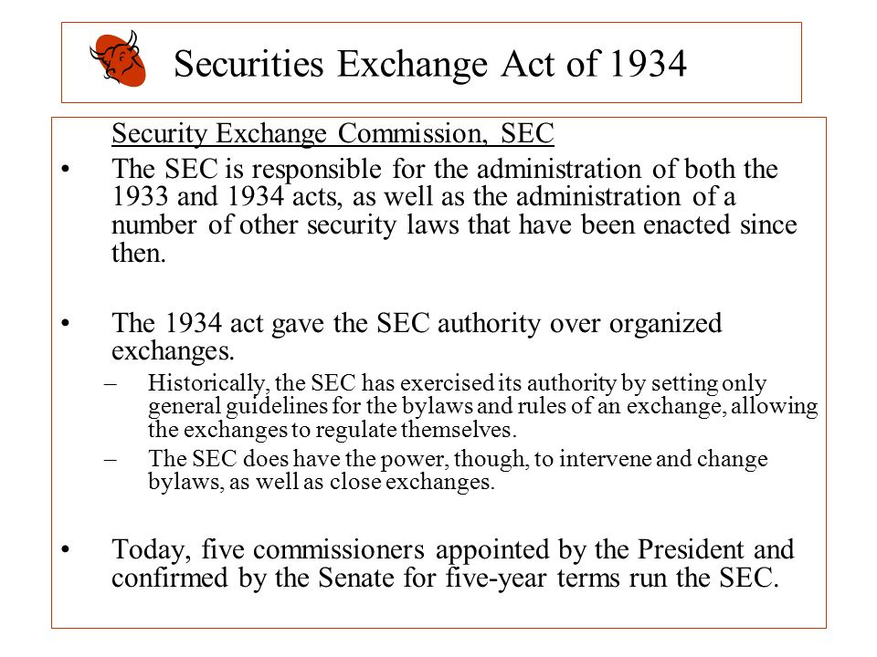 securities exchange act 1934 Issuers and obligated people are subject to continuing disclosure requirements for municipal securities offerings of $1 million or more that are sold on or.