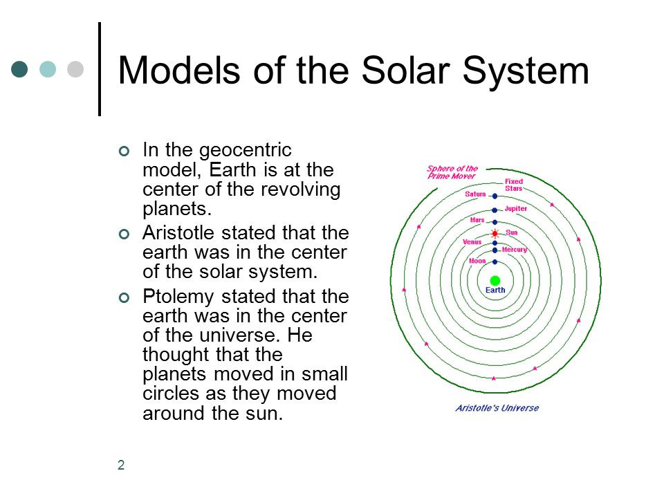 The Solar System Chapter ppt download
