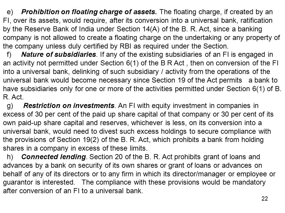 project on universal banking Icici into universal banking focus on (icici) industrial credit and investment  corporation of india ltd which was set up as a dfi in 1955, underwent  significant.
