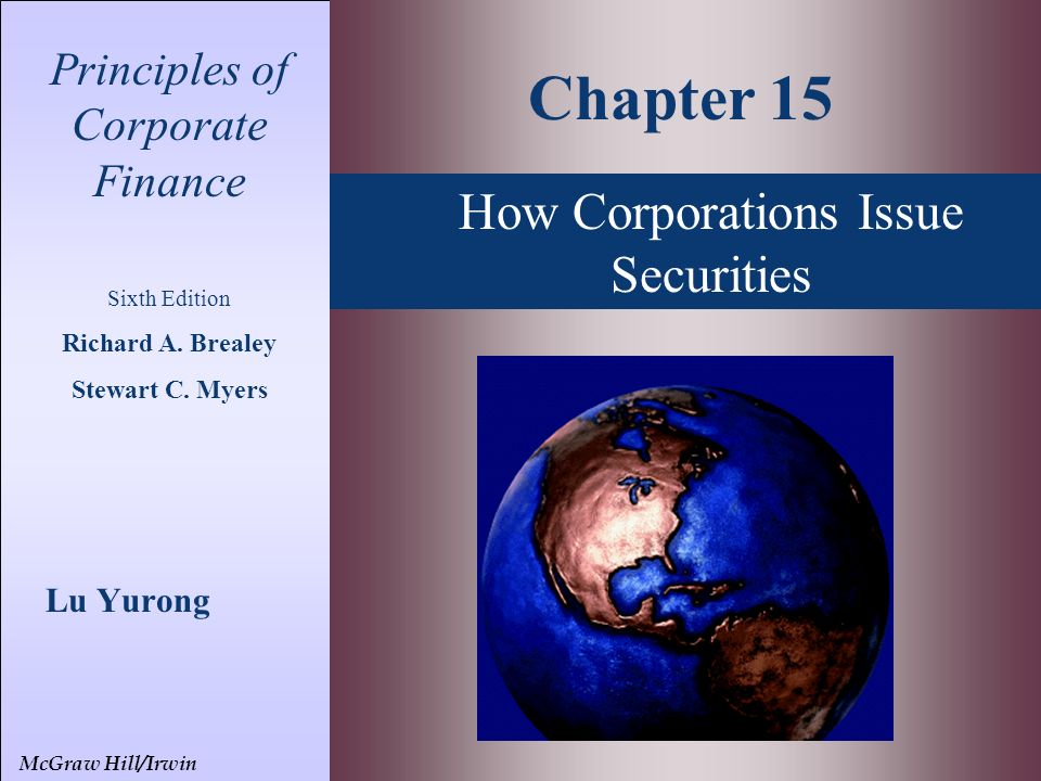 solutions to chapter 26 leasing brealey myers Principles of corporate finance 0078034760, by franklin allen, richard brealey, stewart myers chapter 26 managing risk.