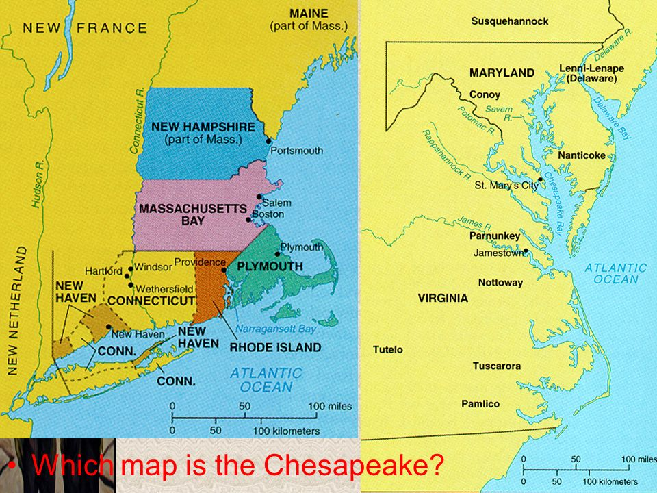 why the new england and chesapeake The new england and chesapeake regions were both settled by people of the english origin, but by the 1700's the two colonies drifted to become to distinct societies what was the differences.