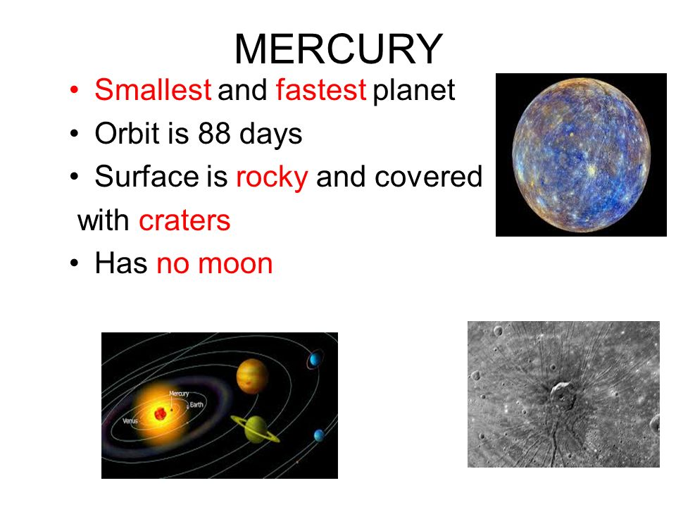 which planets orbit the fastest - photo #6