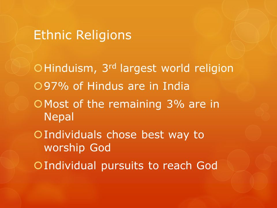 Chapter Religion Ppt Download - 3 largest religions