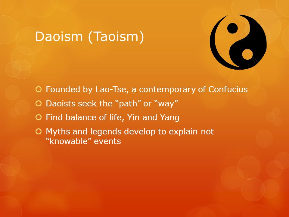 proper way to live by confucianism and taoism essay The connection between confucianism and taoism  way or principle but it can also mean nature or reality in taoism, the right path is working in harmony with .